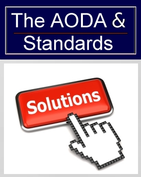 The AODA and Standards